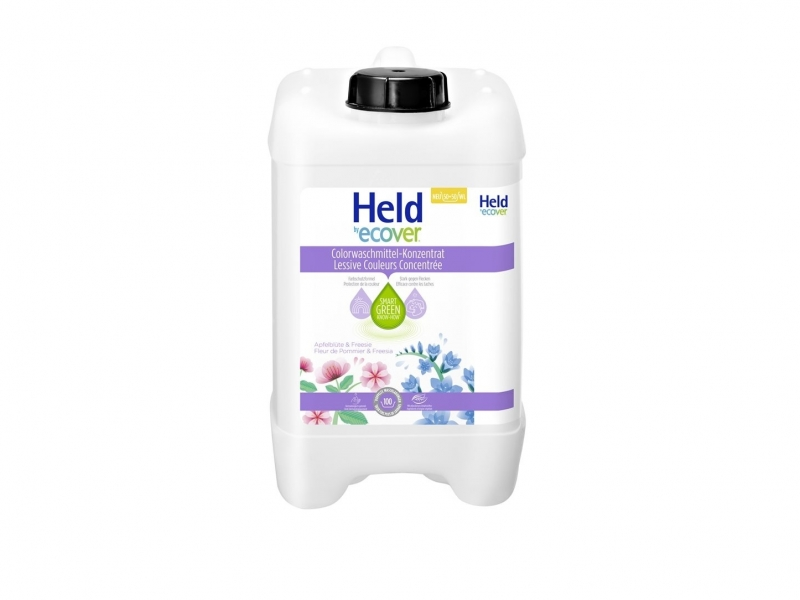 HELD BY ECOVER Lessive liquide Color conc 5 lt