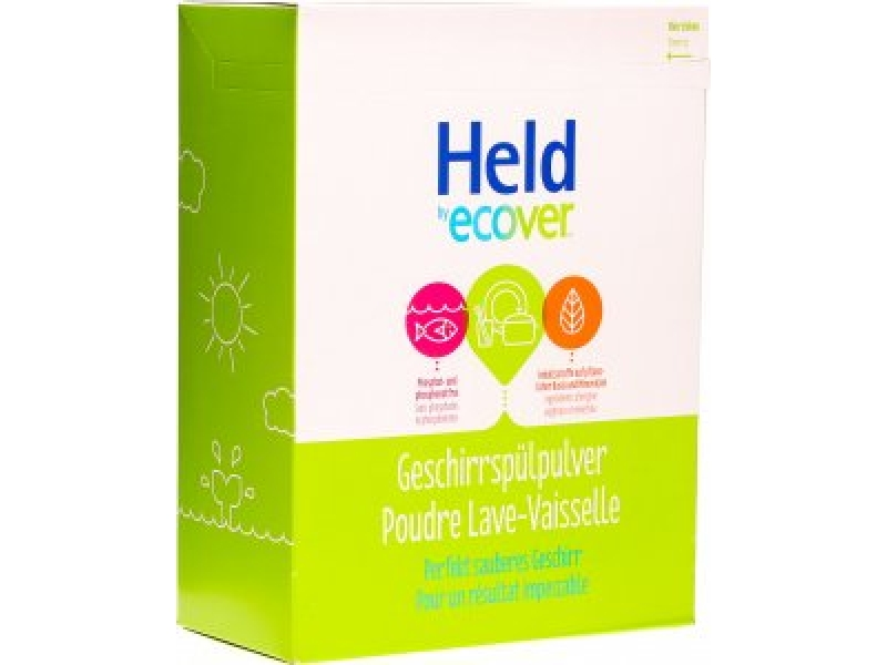 HELD BY ECOVER poudre lave-vaisselle 3 kg